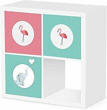 Debe 3er Kallax Boxen Kinderzimmer Set, Design