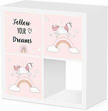 Debe Kallax Boxen Kinderzimmer Set, Design