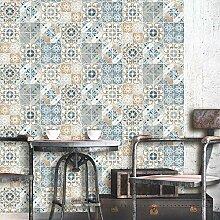 Debona Abwaschbare Tapete Valencia - Terrakotta,