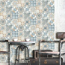 Debona Abwaschbare Tapete Valencia - Terrakotta, Full Roll