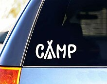 Decal-Camp Aufkleber, Zelt-Cam-Vinyl-Aufkleber,
