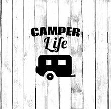 Decal-Camper-Life-Aufkleber, Wohnmobil, Wohnmobil,