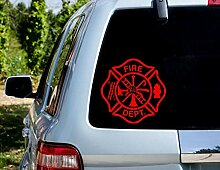 Decal-Feuerwehr-Aufkleber, Feuerwehrmann,