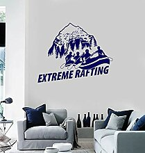 Decal Hills View White Water Extreme Rafting