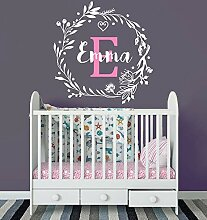 Decal Personalized Custom Name Monogram First Name