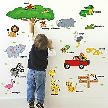 Wandsticker Kinderzimmer Tiere günstig online kaufen | LIONSHOME