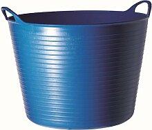 Decco Ltd Tubtrug Gartenkorb, flexibel, groß, 38l L blau