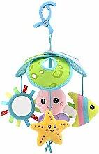 Decdeal Baby Musik Mobile Spielzeug Traumbärchen