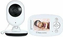 Decdeal Babyphone mit Kamera 2.4 Zoll LCD Wireless