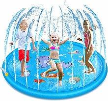 Decdeal Splash Pad Sprinkler Wasserspielmatte