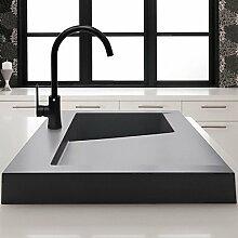 Deck montierten Waschbecken Mischbatterie Wasserhahn Küche