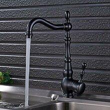 Deck Mount Badezimmer Küchenarmatur Einhand 360