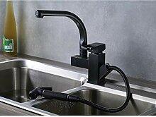 Deck Mount Kitchen Sink Mixer Wasserhahn Ausziehen