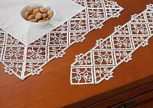 Deckchen Spitze creme Größe 43x43 cm