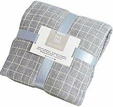 Decke (150 Cm * 200 Cm, Pink/Grau) - Vier