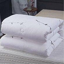 Decke Baumwolle ist 100% innen und außerhalb der Baumwolle, QuiltCotton warPad warSpring und Herbst war Baumwolle Quilts Quilt Winter war Xun US 220 * 240cm4KG Anti-Kalt-Quilts ( größe : 220*240cm4KG )