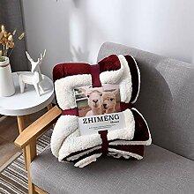 Decke Bettlaken, Verdicken Reversible Decke Warm