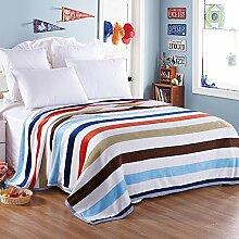 Decke/ Coral Fleecedecke/ Office napping Decke/ Klimaanlage Decke/Double einzelne Decke/ Leinen Handtuch Decke/Handtuch-A 120x200cm(47x79inch)120x200cm(47x79inch)