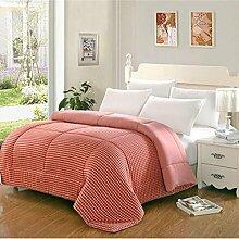 Decke Cotton Quilts sind Warm Winter dicken Quilts Double Student Bettwäsche ( farbe : A2 , größe : 200X2306 Pounds )