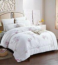 Decke Dicke warme Baumwolle Quilts Quilt Quilt Quilt für Winterbett ist anwendbar ( farbe : C , größe : 150*200cm (4 Pounds) )