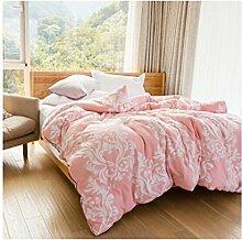 Decke Jane ist die Quilt 40s Baumwoll-Baumwoll-Core war Winter, dreidimensionale Verdickung warme Single Double Quilts Hochzeit liefert Geschenke Quilt 220 * 240cm4.5kg ( größe : 220*240cm4.5kg )