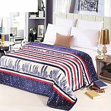 Decke/ Klimaanlage im Gesetz Lai Kaschmir Decke/Twin-Flanell-Decke/ Korallen-Teppich/ napping decken im Winter/NAP-Decke-C 120x200cm(47x79inch)120x200cm(47x79inch)