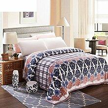 Decke/ Klimaanlage im Gesetz Lai Kaschmir Decke/Twin-Flanell-Decke/ Korallen-Teppich/ napping decken im Winter/NAP-Decke-M 150*200cm(59x79inch)