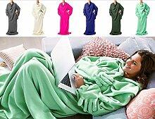 Decke mit Ärmeln inkl. Handschuhe von Doojo® | Neues Model & Das Original! Ärmeldecke®