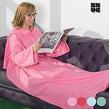 Decke mit Ärmeln Snug Snug One Big 170x 130cm Rose