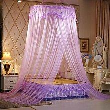 Decke Moskitonetze, Verschlüsselung, Decke, Spitzenspitze, Prinzessin, rund, Moskitonetz , 1 , 1.8m