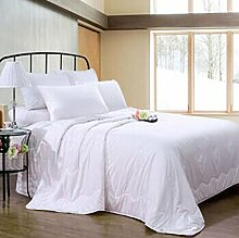 Decke Quilt Winter Silk war Seide dicken Winter war 1,2 M Bett (Trompete) weiß ( größe : 1.2 M Bed )