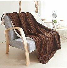 Decke Stricken Wollbettdecke Sofa Schonbezug Wirft