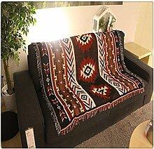 Decke / Teppich / Überwurf, mit geometrischem