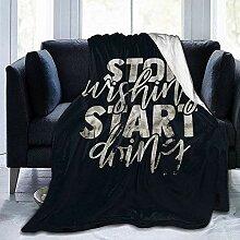 Decke Werfen Hören Sie Auf Zu Wünschen, Beginnen