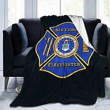 Decke Werfen Us Air Force Firefighter Hotel Decke