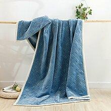 Decke/Winter Klimaanlage Decke/ Deckedicken Korallen Fleecedecke/Handtuch/Decken/Siesta Flanell Decke/ einzelne Decken Bettwäsche-D 200x230cm(79x91inch)