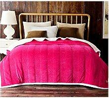Decke Winterdecke Polyester verdicken Schlafzimmer
