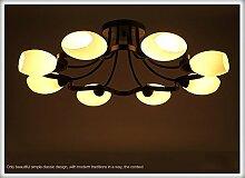 Decke Wohnzimmer Lampe modernen minimalistischen American country schmiedeeiserne Lampe Schlafzimmer Lampe kreative Restauran