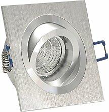 Decken Einbauleuchte NOBLE Silber (auch in