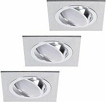 Decken-Einbaustrahler 3er Set | Einbauleuchten LED