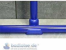 Decken-Halterung 55cm blau Abhänger