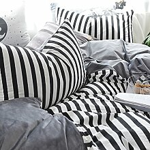 Decken mit 2 Kissen shams bed sheet koreanisch stil vier sets weichen bequeme dauerhafte haut-Freundlich -I Queen2