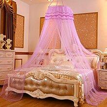 Decken Moskitonetze, 60cm, Verschlüsselung einzigen Tür, rund, 1,2 m / 1,5m Bett, einzelne doppelte freie Installation , #2