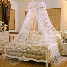 Decken Moskitonetze, 60cm, Verschlüsselung einzigen Tür, rund, 1,2 m / 1,5m Bett, einzelne doppelte freie Installation , #4