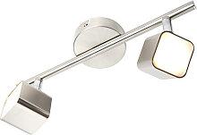 Decken - und Wandstrahler Stahl neigbar inkl. LED