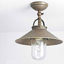 Deckenlampe Außen Messing Premium E27 bis 70W
