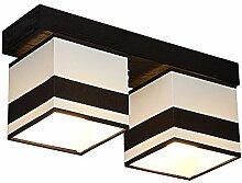 DeckenlampeFarbe: Creme - Für LED Birne und