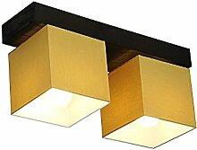 DeckenlampeFarbe: Honig - Für LED Birne und