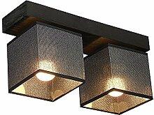 DeckenlampeFarbe: Schwarz mit Glanz - Für LED