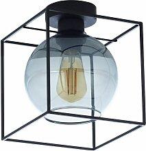 Deckenlampe Grau Glas B:20cm
